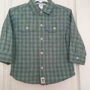 janie & jack double pocket shirt